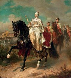 wk 18 Maria Theresa gave birth to 16 children- 11 girls and 5 boys. Among them were future emperors Joseph II and Leopold II and Queen Marie Antoinette of France. French History, Canadian History, European History, Marie Antoinette, Austria, Fernando Iii, Maria Theresia, Art Through The Ages, Side Saddle