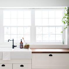 Before and After: A Dated, Dark Kitchen Gets a DIY Remodel   Design*Sponge