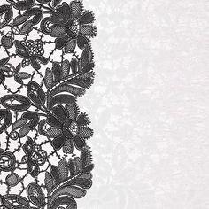 Álbum de imágenes para la inspiración (pág. 37) | Aprender manualidades es facilisimo.com Zentangle Patterns, Textile Patterns, Paper Background Design, Paper Lace, Decoupage Vintage, Floral Border, Lace Border, Lace Doilies, Art Clipart