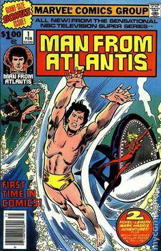 MAN FROM ATLANTIS 1, BRONZE AGE MARVEL COMICS