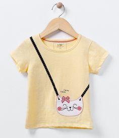 Blusa Infantil  Mang...