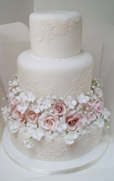 If you are looking a cake for your special day, our bespoke wedding cakes range . - If you are looking a cake for your special day, our bespoke wedding cakes range could be the answer - Pretty Wedding Cakes, Wedding Cake Rustic, White Wedding Cakes, Elegant Wedding Cakes, Wedding Cakes With Flowers, Beautiful Wedding Cakes, Gorgeous Cakes, Wedding Cake Designs, Pretty Cakes