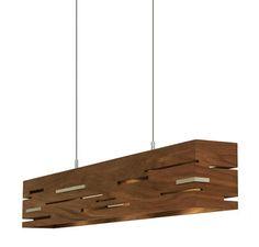 Contemporary pendant lamp (wood) - AERIS - Cerno