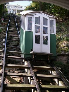 Dubuque Iowa, Incline Railway Yes, we always ride it up and down when we visit Dubuque Iowa! Don't look down! Oh The Places You'll Go, Great Places, Places To Travel, Beautiful Places, Places To Visit, Dubuque Iowa, U Bahn, Nebraska, Vacation Spots