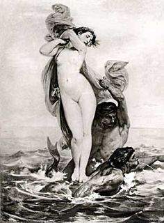 Felix-Henri Giacomotti, Abduction of Amymone, 1865 Greek And Roman Mythology, Ancient Romans, Ancient Greek, Figure Reference, Satyr, Graphic Design Posters, Artist Painting, Egypt Queen, Trident
