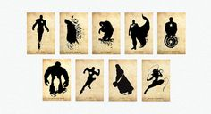 Superhero Posters   Canvas Print Gallery Wrapped  by HavvArt