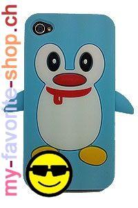 Pingouin – iPhone 4/4S    Ce fantastique étui protège votre iPhone 4 4s contre les rayures et les chocs de tous les jours.