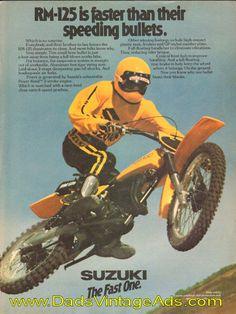 1978 Suzuki RM-125 – faster than their speeding bullets