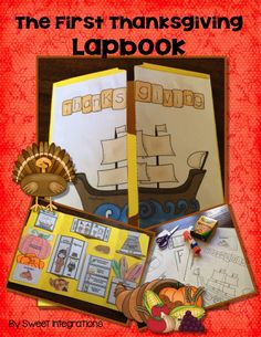 The First Thanksgiving Lapbook; $