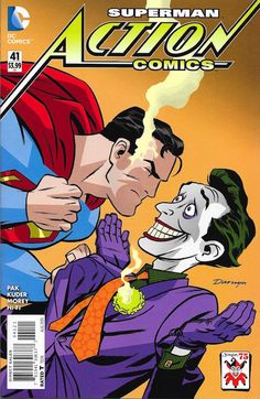 Action Comics #41. Super and the Joker