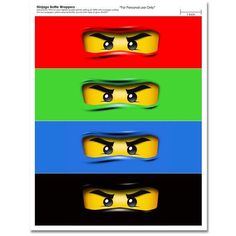 29 Images of Ninjago Eyes Template Free Lego Ninjago, Ninjago Party, Ninja Birthday Parties, Party Co, Water Party, Star Wars Party, Bottle Labels, Legos, Water Bottle
