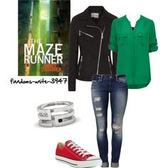 """Re-Reading The Maze Runner Series"" by fandoms-unite-3947 on Polyvore"