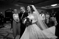 Christina (plus) Nathan - two of the top Calgary wedding photographers for over a decade. Their award winning photography is filled with real moments. Award Winning Photography, Indoor Ceremony, Calgary, Wedding Photography, Purple, Wedding Dresses, Winter, Fashion, Wedding Shot