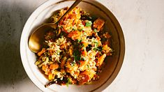 This simple dish, also known as carrot poriyal, complements most Indian meals. Leftovers can be added to salads. Urad dal are small lentils that have been skinned and split; they can be found at Indian markets or kalustyans.com. This recipe is courtesy of Madhur Jaffrey.