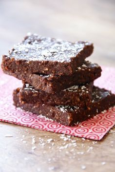 Healthy easy brownie met kokos