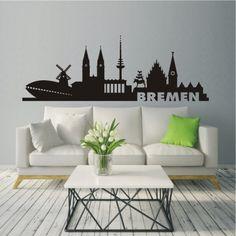 Wandtattoo Skyline Bremen 585