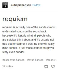 "honestly connor was a fucking dick, but this post made me cling to all my ""connor lives and nothing bad happens ever"" AUs //also if yall are bitching on zoe i will personally slAP you"