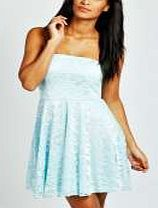 boohoo Lace Bandeau Skater Dress - ice azz64787 A dress that deserves to party http://www.comparestoreprices.co.uk/dresses/boohoo-lace-bandeau-skater-dress--ice-azz64787.asp
