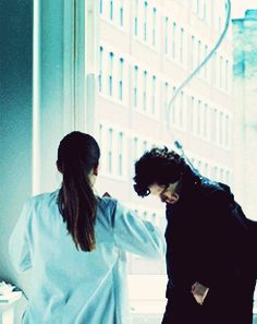 The moment we all wanted to be Molly. {gif} It's the beautiful hair ruffle.