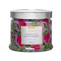 Hibiscus & metsämarja Mehukkaat hedelmät ja hehkeät kukatkohtaavat meripihkan hehkun ja myskin aromin.