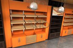 طراحی فروشگان نان سحر لویزان- ارائه کانتر نان، دکوراسیون فروشگاهی و ...