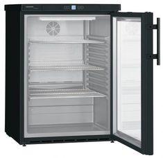 Liebherr FKUv 1613-744 unterbaubarer Getränkekühlschrank BlackLine Top Freezer Refrigerator, Kitchen Appliances, Products, Interior Lighting, Cubby Hole Storage, Energy Consumption, Fan, Countertop, Corning Glass