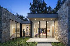 Art House 2.0 Exterior: Main Entrance with Sculpture Garden