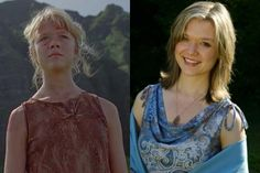 Ariana Richards as Lex Murphy - Jurassic Park Then and Now - 8Ball.co.uk…