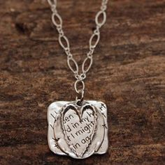 Hidden in My Heart... Necklace – ChristianGiftsPlace.com Online Store