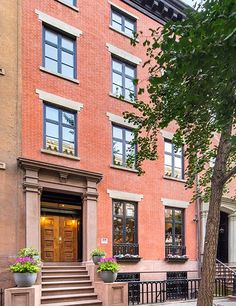 Sarah Jessica Parker and Matthew Broderick's East 10th Street townhouse is on the market.