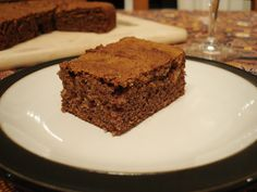 Ginger Cake (Gluten Free & Specific Carbohydrate Diet)