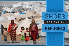 """""""Shoes for Syrian Refugees"""" - Help raise money for Syrian refugees for clothes & shoes the harsh winter   http://www.indiegogo.com/projects/shoes-for-syrian-refugees"""
