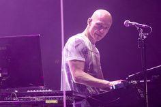 Mark Kelly, keyboards, Marillion, Anoraknophobia evening, PZ, 2015