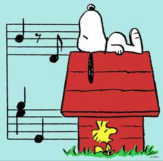 Music and Snoopy - 2 of my favorite things