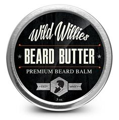 A homemade beard balm recipe made with beeswax, jojoba oil, shea butter, argan oil, vitamin E oil, and essential oils. Apply after a shower or before you go out to moisturize and tame your beard. Makes an excellent DIY gift for a father, husband, boyfriend, brother, or friend in your life!