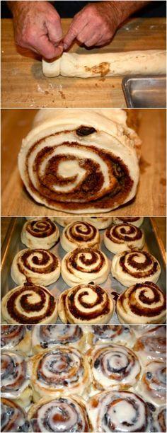 Cinnamon Rolls (Parry Rolls)