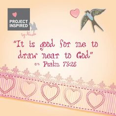 Psalm 73:28 #life #God #Bible #psalm #projectinspired