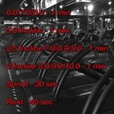 Don't wanna run outside in the cold this weekend? Then hit the treadmill and give this 4min 30sec run ago! Speeds are in mph, in order of beginner, intermediate, advanced levels and all treadmills can be converted to mph. Inclines HAVE to be done. Complete 3 rounds for a 15 min #HIIT cardio session. @ your friends who'd love to attack this run and let me know how you get on guys? #Treadmill #Cardio #Running #Motivation #NoExcuses #FaisalsRuns #Fitspo #PMA #FITNESS