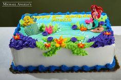 Little mermaid cake 2