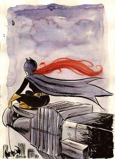 Batgirl via EmiTown.