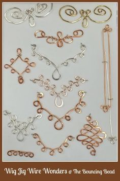 wire jig templates - Google Search #wirejewelry