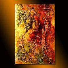 Toile peinture Art Original Art moderne Art Texture