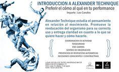 INTRODUCCIÓN A ALEXANDER TECHNIQUE con Leonardo Canales 10 y 11 de Agosto Escuela de Teatro Universidad Mayor