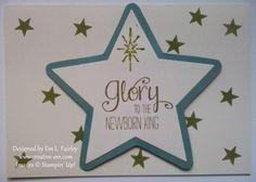 Creative Em: Glory to the newborn king. Stampin' Up! Christmas