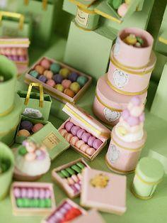 miniature Laduree inspiration