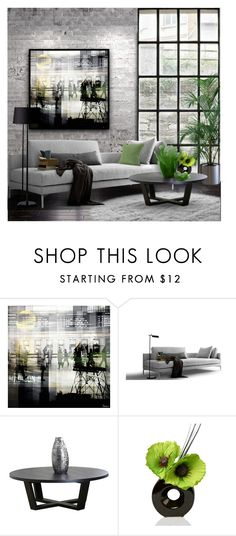 """Untitled #692"" by tenasta ❤ liked on Polyvore featuring interior, interiors, interior design, home, home decor, interior decorating, WALL, Parvez Taj and Abbyson Living"