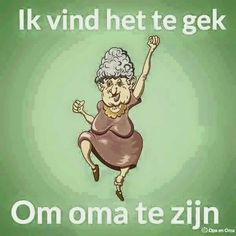 Oma zijn. Art Impressions, Baby Born, Emoticon, Grandchildren, Birthday Wishes, Funny Pictures, Hilarious, Lol, Letters