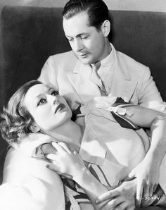 Robert Montgomery & Joan Crawford from Letty Lynton (1932)