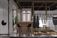 Không gian thiết kế nội thất cửa hàng bừng sức sống nhờ gam màu sắc từ thiên nhiên. Điểm đặc biệt của cửa hàng này là quầy thanh toán đặt ở trung tâm. Nhờ vậy hách hàng không cần phải đi xa mà dễ dàng thanh toán tại đây. #saokimdecor #boutique #fashion #showroom #shop #designshowroom #designshop #thờitrang #carpet #chair #table #interior #interiordesign #design #designs  #interiors #インテリア #interieur #innenraum #nộithất Interior S, Interior Design, Showroom, Design Art, Design Shop, Wardrobe Rack, Retail, Store, Furniture