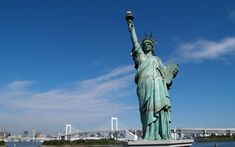 Now that we're living in New York, we cannot wait to visit NYC and go see the Statue of Liberty.